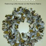 Easy DIY Rag Wreath