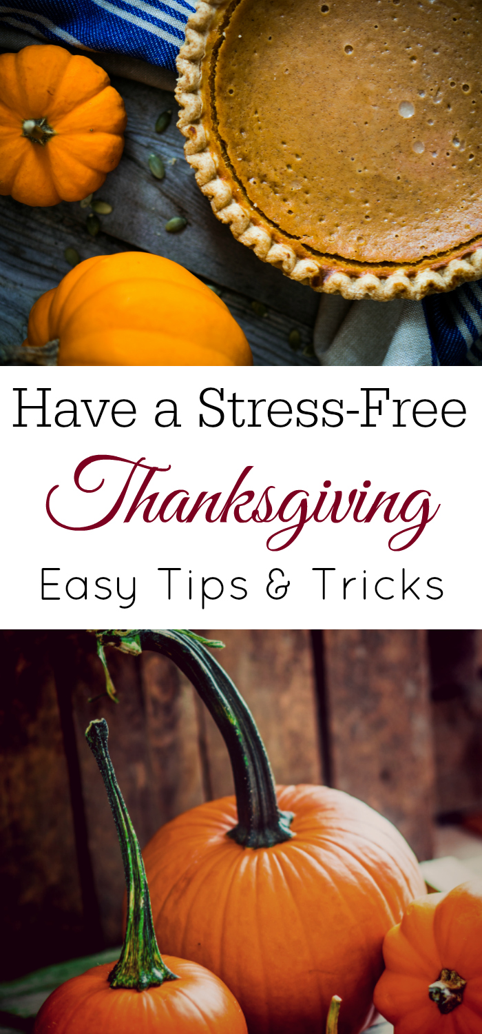 How to Have a Stress-Free Thanksgiving, Planning for Thanksgiving