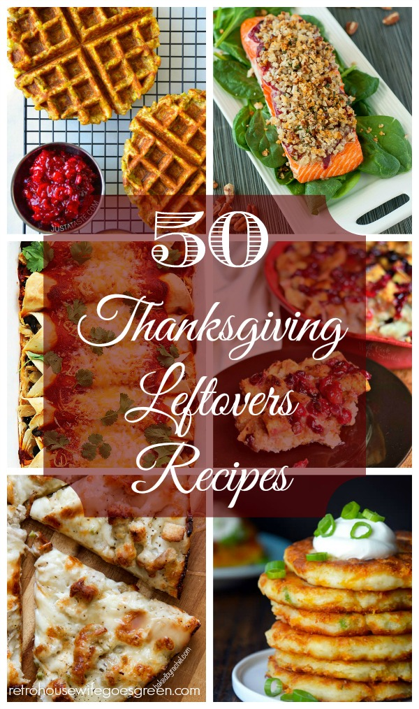 50 Recipes for Thanksgiving Leftovers