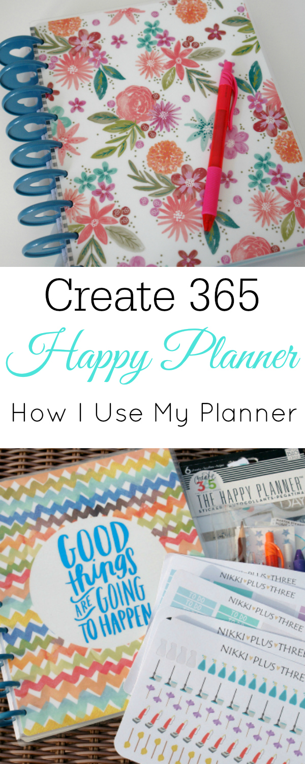 Create 365 Happy Planner, How I use my planner, planner review, ARC planner #planner