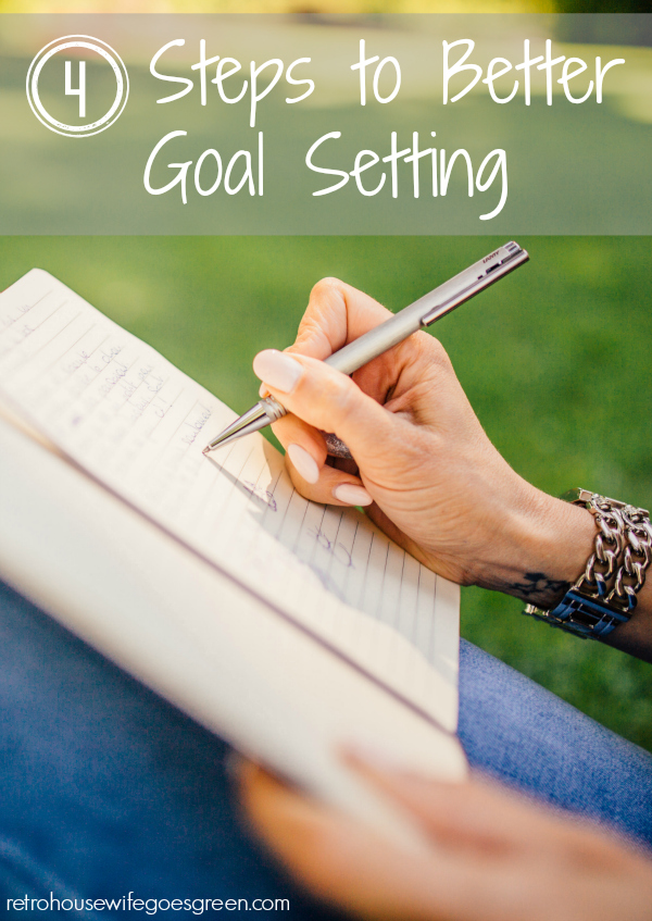 4 Steps to Better Goal Setting