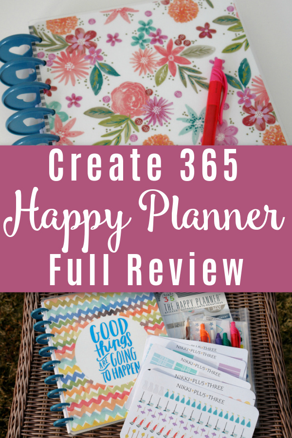 create 365 happy planners with different covers