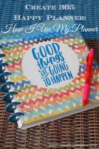 Create 365 Happy Planner: How I Use My Planner