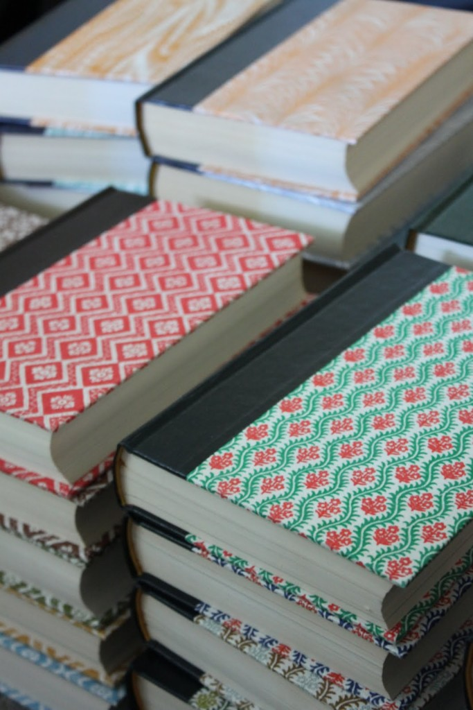 Upcycled Book Journals