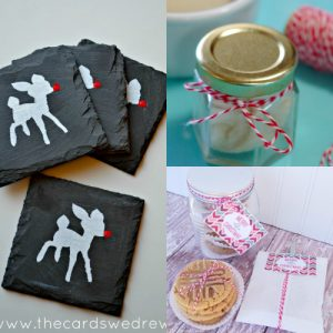 Last minute Christmas homemade gift ideas, diy gift ideas, handmade gift ideas