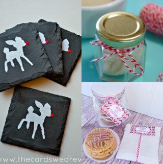 Last minute Christmas homemade gift ideas, diy gift ideas, handmade gift ideas