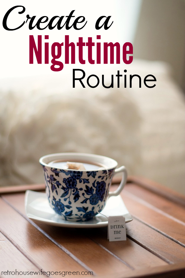 Mornings are hard but a good nighttime routine can help make them a little easier.