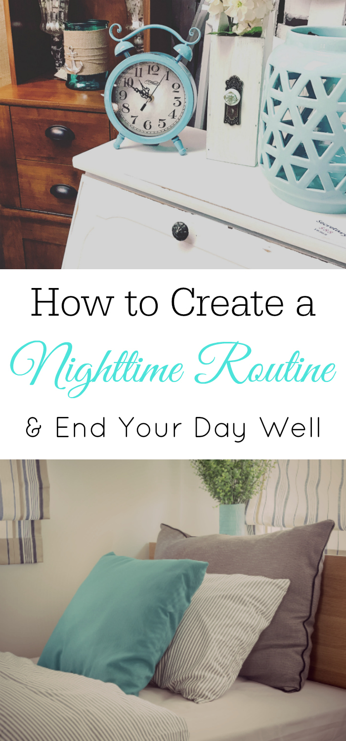 Create a nighttime routine, evening routine #routine