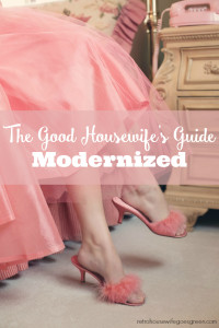 The Good Housewife's Guide, Modernized