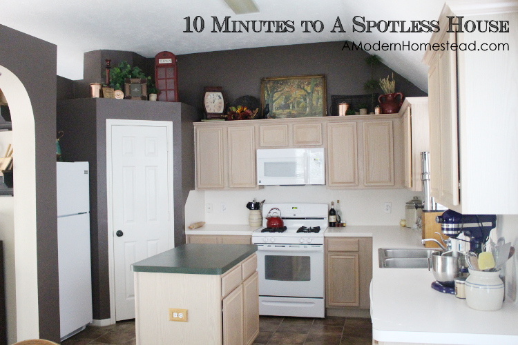 10 Minutes to a Spotless Home