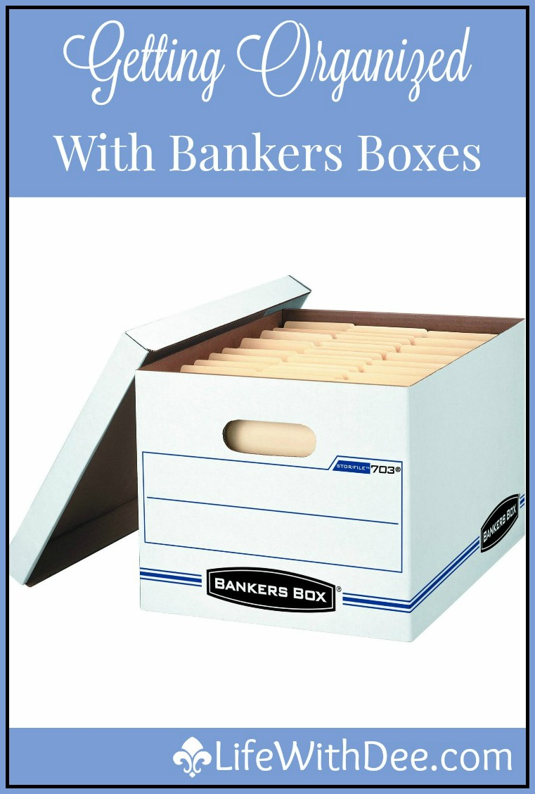 Organizing with Banker Boxes