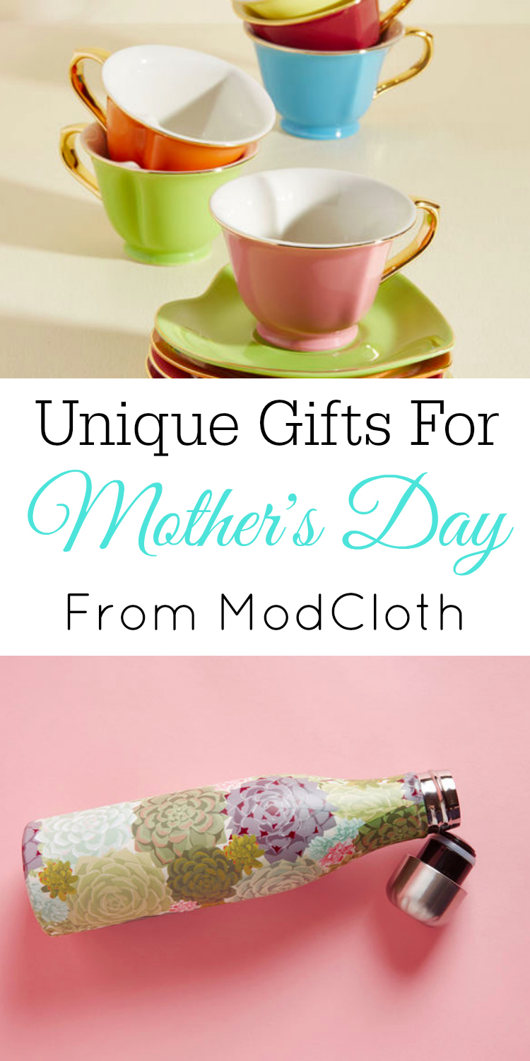 Unique Gift Ideas for Mother's Day, Gifts for Mom, ModCloth #modcloth #mothersday