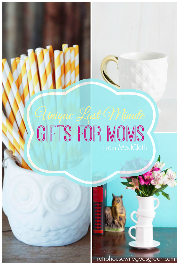 Unique Last Minute Gifts for Moms