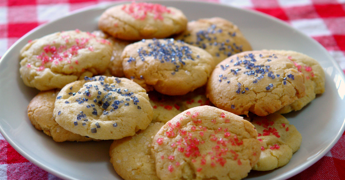 Soft and delicious sugar cookies that are super easy to make!