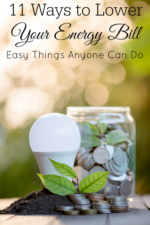 light bulb and jar of change