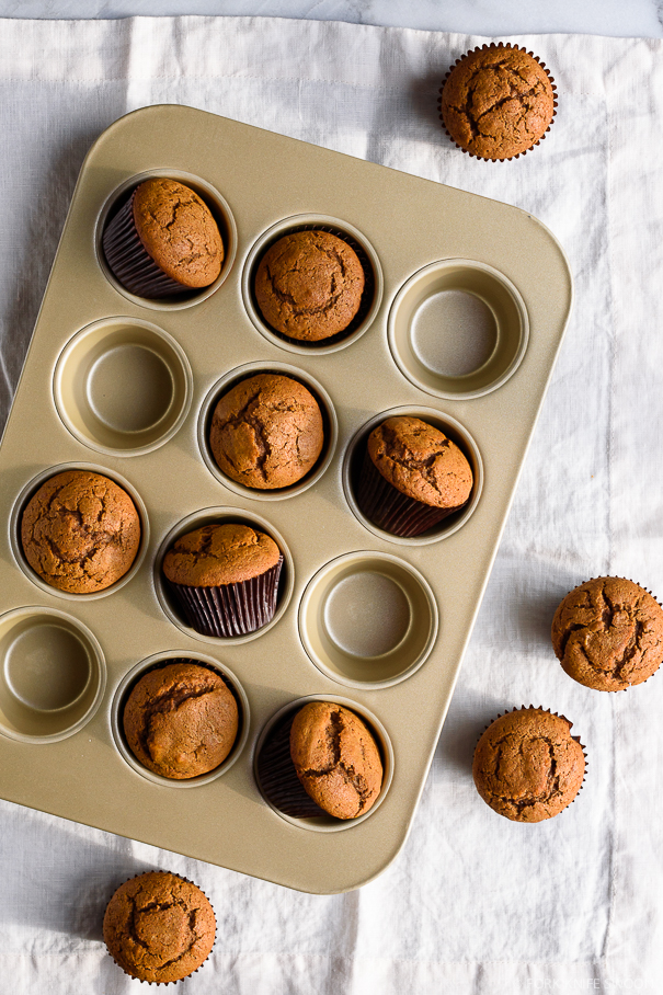 Spiced Gingerbread Muffins