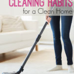 Daily Habits for a Clean Home