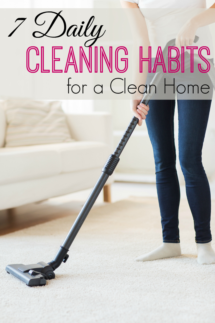 Tried of cleaning but want a clean home? These daily cleaning habits will keep your house clean with minimal effort.