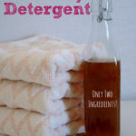 Homemade Natural Liquid Laundry Detergent