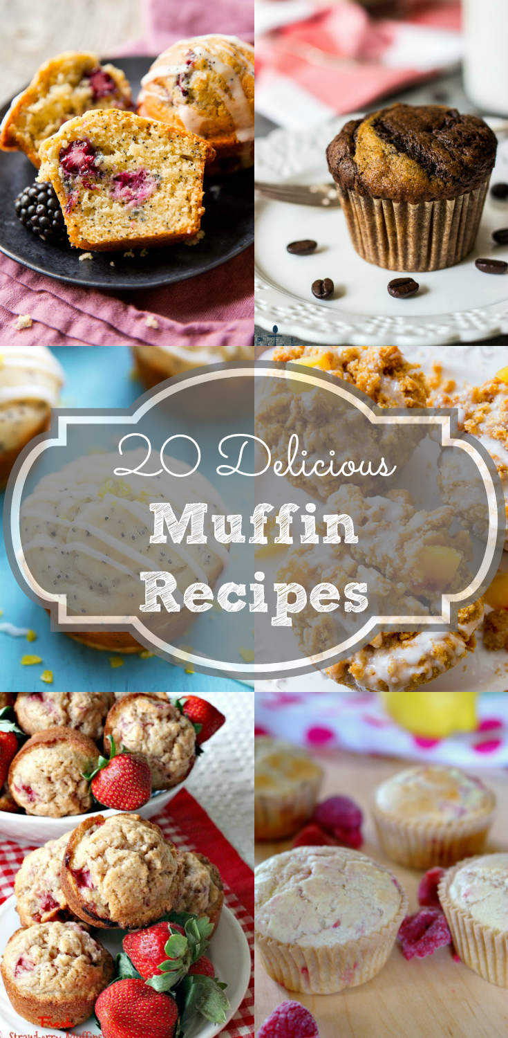 Need quick breakfast ideas? Check out these 20 delicious muffin recipes!