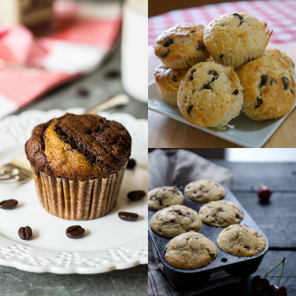 20+ Delicious Muffin Recipes, Easy Muffins, Make-Ahead Breakfast
