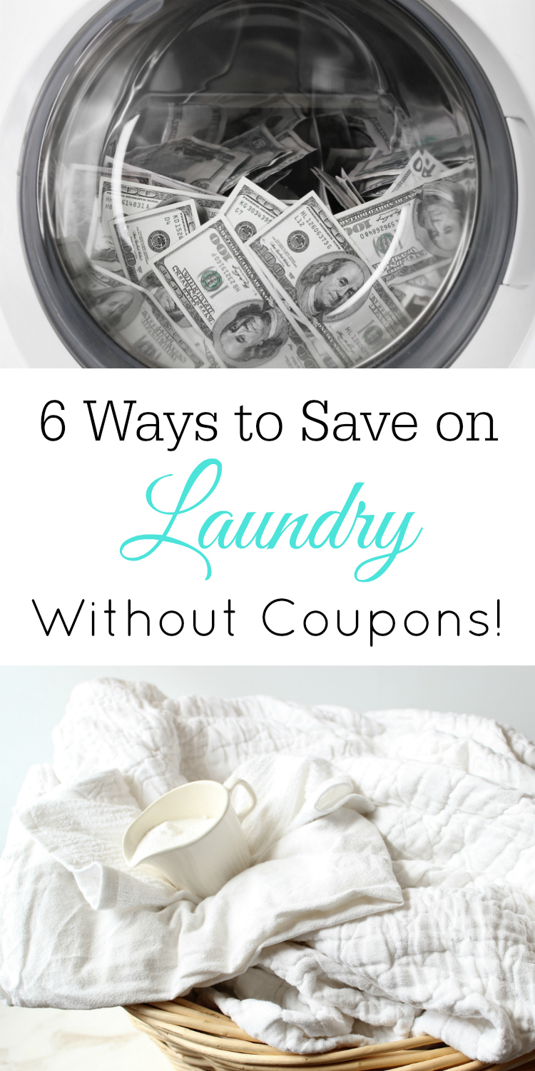 Save Money on Laundry, Frugal Laundry, #Frugal #Budget