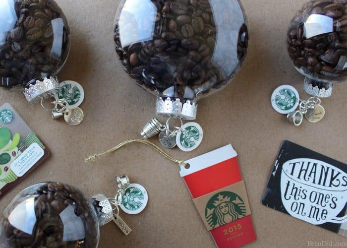 Coffee Bean Customizable Ornaments