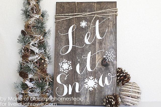 DIY Woodland Sign