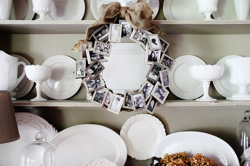 Memory Picture Frame Wreath