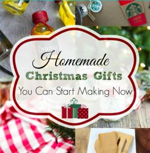 25+ Homemade Christmas Gifts