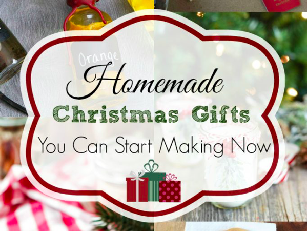 25+ Homemade Christmas Gifts - Retro Housewife Goes Green