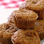 Coffee Cake Oatmeal Muffins