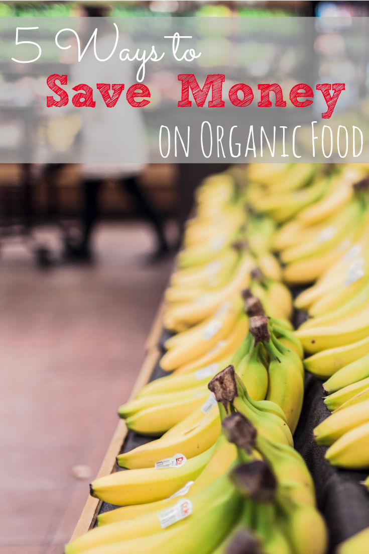 Healthy, natural, and organic food doesn't have to cost a ton of money. These are some great ways to save money while eating organically!