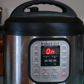 Cook a frozen whole chicken safely and quickly with an Instant Pot.