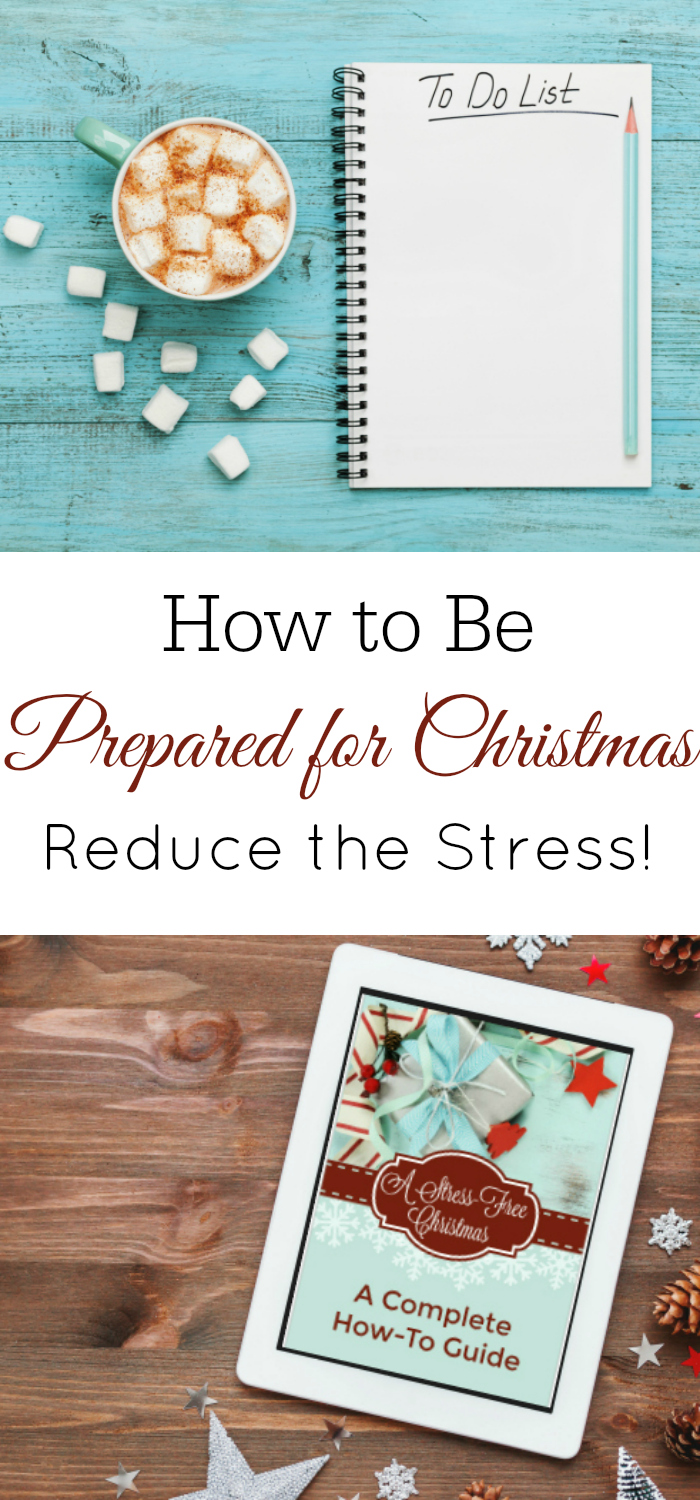 How to be prepared for Christmas, stress-free christmas, christmas planning