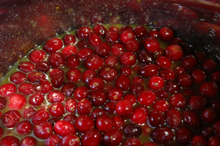 Skip the can this year and make this super easy orange cranberry sauce. It can be made on the stove or in the slow cooker.