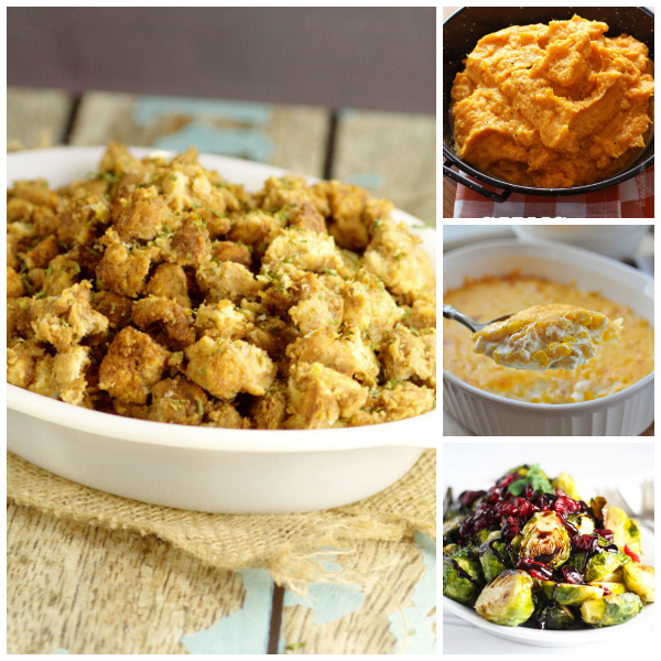 Great side dishes for Thanksgiving and Christmas dinners.