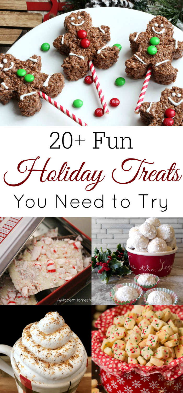 Fun Holiday Treats You Need to Try, Christmas Treats, Christmas desserts, holiday desserts