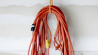 Extension Cord Organization