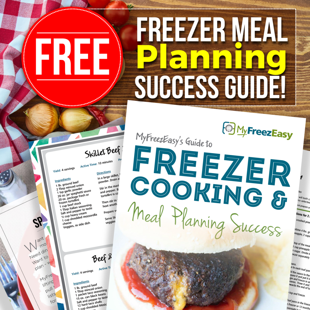 Free Freezer Meal Planning Guide