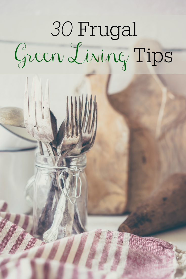 30 Frugal Green Living Tips That Can Save Money
