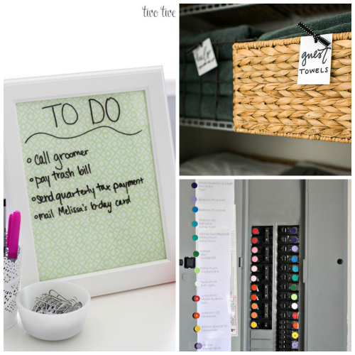 18 Home Organization Hacks. Great for helping your home completely organized.