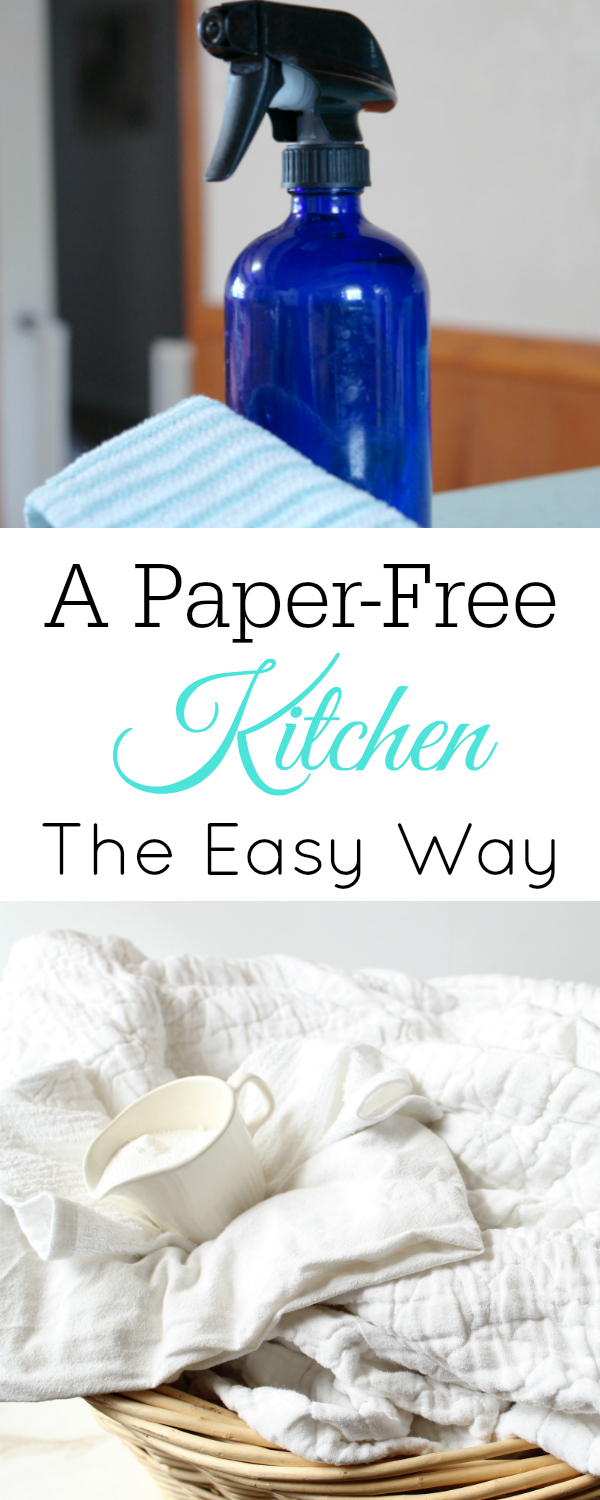 How to have a paper-free kitchen, eco-friendly kitchen #paperfree #ecofriendly