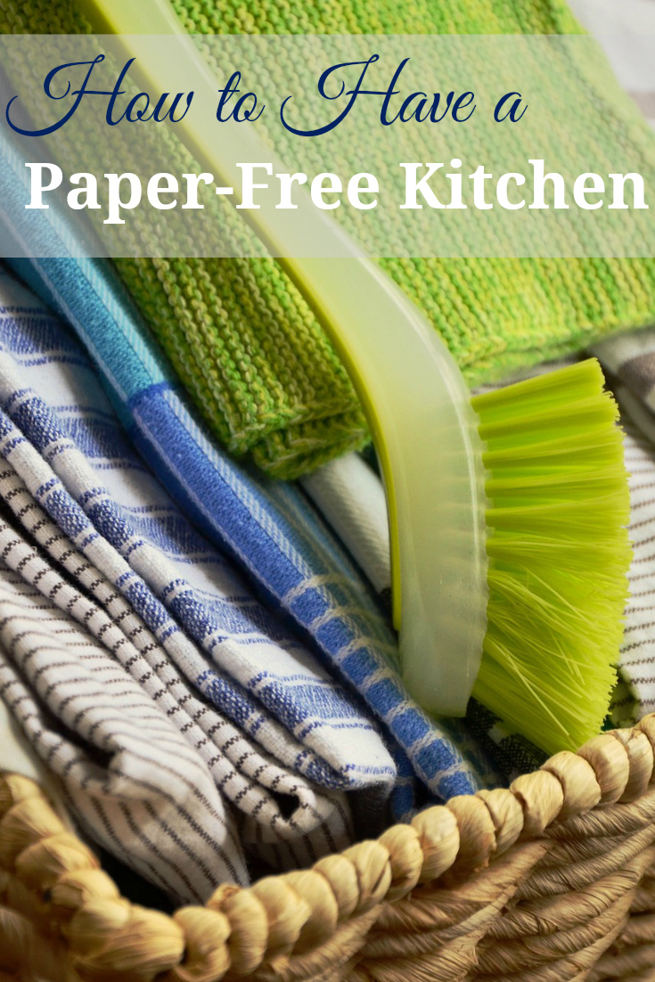 Go paperless in your kitchen. These are great tips for a paper-free kitchen.