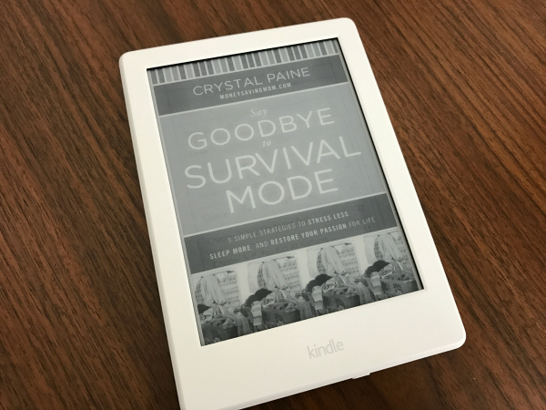 Saying Goodbye to Survival Mode title page on Kindle