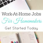 Work-At-Home Jobs for Homemakers