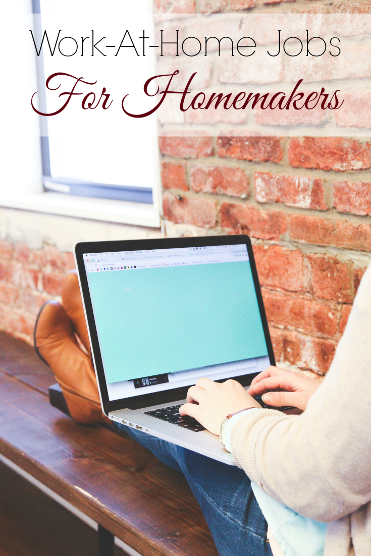 Looking to bring in income as a homemaker? These work-at-home jobs are perfect for the homemaker and stay-at-home mom. It's time to get your side hustle on.