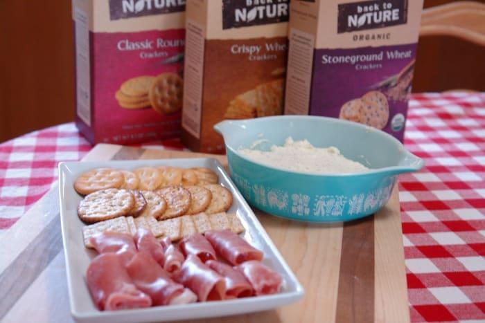 Vintage Inspired Garlic herb cream cheese spread #sponsored