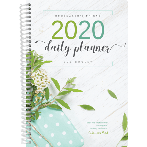 2020 Daily Planner cover