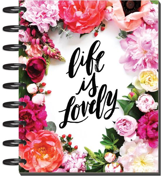 floral happy planner